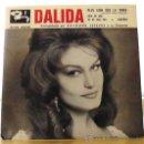 Discos de vinilo: DALIDA RARO EP 'PLUS LOIN QUE LA TERRE'+3 1961 ESPAÑOL. Lote 32660779