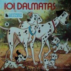 Discos de vinilo: 101 DÁLMATAS (DISCO-LIBRO) - CUENTO Y CANCIONES EN CASTELLANO - EDICIÓN DE 1967 DE ESPAÑA. Lote 32661398