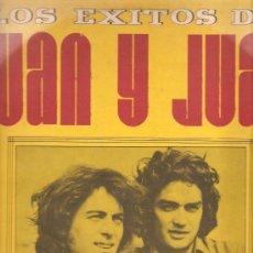 Discos de vinilo: LP LOS EXITOS DE JUAN Y JUAN (JUAN EDUARDO & JUAN MARCELO ). Lote 32664335
