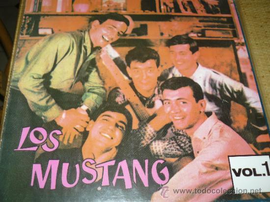 MUSICA GOYO - LP - MUSTANG, LOS... - POP ROCK - 1ª EDICION COCODRILO -*BB99 (Música - Discos - LP Vinilo - Grupos Españoles 50 y 60)