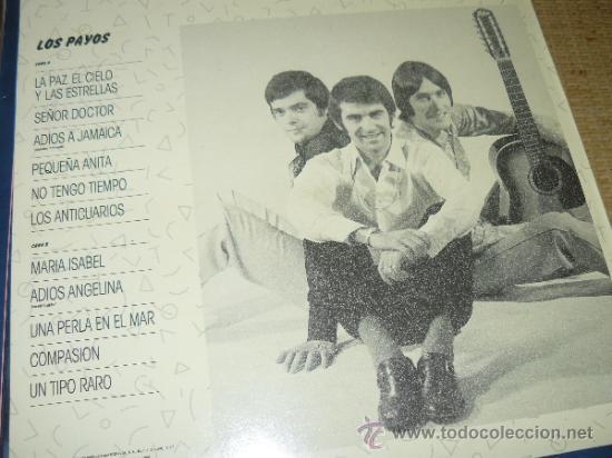 Discos de vinilo: MUSICA GOYO - LP - PAYOS, LOS... - POP ROCK - *BB99 - Foto 2 - 32709712
