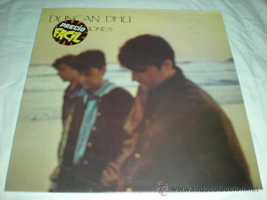 """DUNCAN DHU_CANCIONES_VINILO 12"""" ROCKABILLY_GRABACIONES ACCIDENTALES_1986 (Música - Discos - LP Vinilo - Grupos Españoles de los 70 y 80)"""