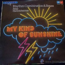 Discos de vinilo: RHYTM COMBINATION & BRASS PETER HERBOLZEIMER.MY KIND OF SUNSHINE. Lote 32672369