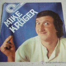 Discos de vinilo: MIKE KRÜGER ( DER NIPPEL - WIR FEIERN HEUT' NE PARTY - WALTHER - DER GNUBBEL ) GERMANY EP45 AMIGA. Lote 32674822