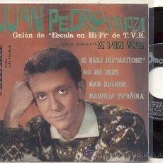 Discos de vinilo: EP 45 RPM / JUAN PEDRO SOMOZA CON LOS DIABLOS NEGROS ( BEATLES) BAT TO ME // EDITADO DISCOPHON 1963. Lote 32676044
