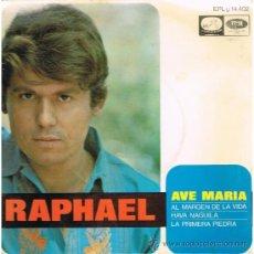 Discos de vinilo: EP. RAPHAEL AVE MARIA. EMI 1968. Lote 32677382