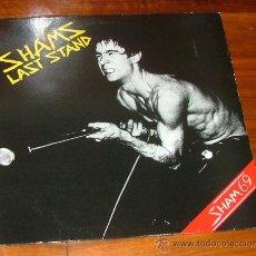 Discos de vinilo: LP VINILO 'SHAMS LAST STAND' (SHAM 69). Lote 32774800