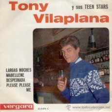 Discos de vinilo: TONY VILAPLANA - DESPEINADA - PLEASE PLEASE ME ( TEMA BEATLES ) - EP 1964 VG ++ / VG++. Lote 32687845
