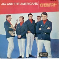 Discos de vinilo: JAY AND THE AMERICANS - SOME ECHANTED EVENING - DEL FILM : SOUTH PACIFIC - EP SPAIN 1965 - EX / EX. Lote 32699319