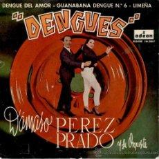Disques de vinyle: DAMASO PEREZ PRADO - DENGUES - EP 1964 VG++ / VG++. Lote 32700447