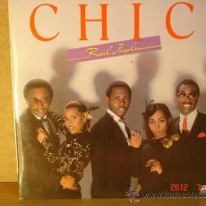 Discos de vinilo: CHIC - REAL PEOPLE - ATLANTIC S 90.250 - 1980. Lote 32702868