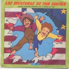 Disques de vinyle: SANTABARBARA,LAS AVENTURAS DE TOM SAWYER DEL 80. Lote 32705737