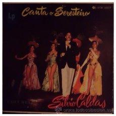 Discos de vinilo: SILVIO CALDAS - CANTA A SERESTEIRO - LP BRASILEÑO DE 10 PULGADAS BOSSA NOVA HISTORICA. Lote 32707938
