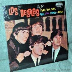 Discos de vinilo: LOS BEATLES - RARO LP 12'' VINILO AZUL - 12 TRACKS - EDITADO EN PERÚ - ODEON IEMPSA. Lote 32708097