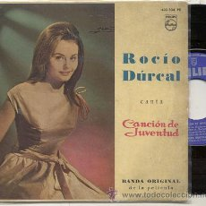 Discos de vinilo: EP 45 RPM / ROCIO DURCAL / LA REUNION // EDITADO PHILIPS 1962. Lote 32708542