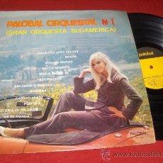 Discos de vinilo: GRAN ORQUESTA SUDAMERICA PALOBAL ORQUESTAL 1 LP 1968 PALOBAL RENAULT ALPINE LATIN. Lote 98668030