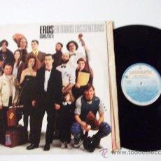 Discos de vinilo: EROS RAMAZZOTTI--EN TODOS LOS SENTIDOS. Lote 32719248