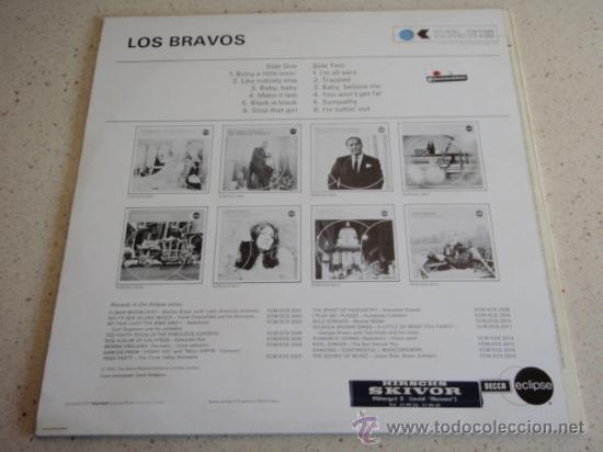 Discos de vinilo: LOS BRAVOS ( BLACK IS BLACK - BRING A LITTLE LOVIN - SYMPATHY - TRAPPED ... ) ENGLAND-1970 DECCA - Foto 2 - 32724913