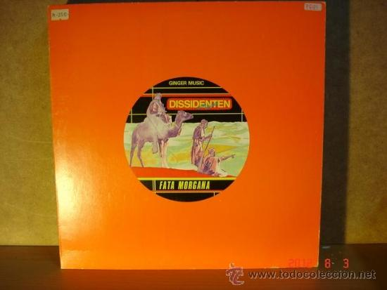 DISSIDENTEN CON LEM CHAHEB - FATA MORGANA / CASABLANCA - GINGER MUSIC GI-0022 - 1985 - PROMOCIONAL (Música - Discos de Vinilo - Maxi Singles - Étnicas y Músicas del Mundo)