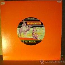 Discos de vinilo: DISSIDENTEN CON LEM CHAHEB - FATA MORGANA / CASABLANCA - GINGER MUSIC GI-0022 - 1985 - PROMOCIONAL. Lote 32734405