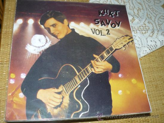 MUSICA GOYO - LP - KURT SAVOY - VOL 2 - COCODRILO - 1ª EDICION *CC99 (Música - Discos - LP Vinilo - Grupos Españoles 50 y 60)