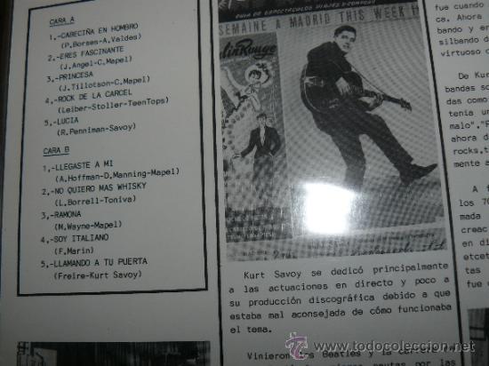 Discos de vinilo: MUSICA GOYO - LP - KURT SAVOY - VOL 2 - COCODRILO - 1ª EDICION *CC99 - Foto 2 - 33005790