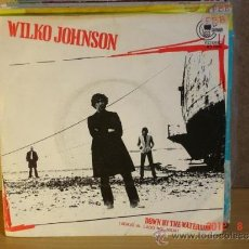 Discos de vinilo: WILKO JOHNSON - DOWN BY THE WATERSIDE / ALL RIGHT - CARNABY MO 1945 -1980 - ESPECIAL SINFONOLAS. Lote 32736056