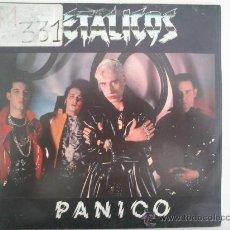 Discos de vinilo: METÁLICOS - PÁNICO. Lote 32739037