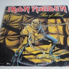 Discos de vinilo: IRON MAIDEN ( PIECE OF MIND ) USA - 1983 LP33 CAPITOL RECORDS. Lote 166064489