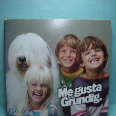 Discos de vinilo: ME GUSTA GRUNDIG. DISCO FLEXO DE PUBLICIDAD. 1979. DISCO VINILO.. Lote 32746470