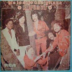 Discos de vinilo: KATUNGA - MIRA PARA ARRIBA MIRA PARA ABAJO. ME LO DIJO UNA GITANA. 1975. DISCO VINILO. Lote 37671362