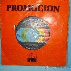 Discos de vinilo: STEVIE WONDER - SEND ONE YOUR LOVE + INSTRUMENTAL VERSION - SINGLE PROMO ESPAÑOL DE 1979.. Lote 32749874