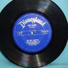 Discos de vinilo: DISCO VINILO. 45RPM. DISNEYLAND. WALT DISNEY PRESENTA: LOS TRES CERDITOS - SINGLE 45RPM 1967. Lote 32961497