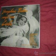 Discos de vinilo: JOSEPHINE BAKER LP SINGT VON LIEBE MIT JO DUVAL VARIETON POP1219 VER FOTO ADICIONAL. Lote 32751910