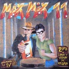 Discos de vinilo: MAX MIX 11 - DOBLE LP . 1991 MAX MUSIC. Lote 32754924