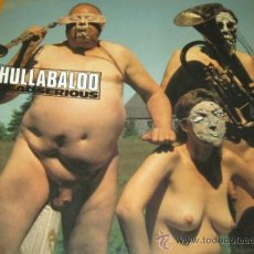 Discos de vinilo: HULLABALOO / HULLA BALOO - DEAD SERIOUS - LP - GERMANY 1990 - NUEVO / MINT. Lote 32758024