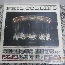 Dischi in vinile: PHIL COLLINS SERIOUS HITS LIVE LP . Lote 32758162