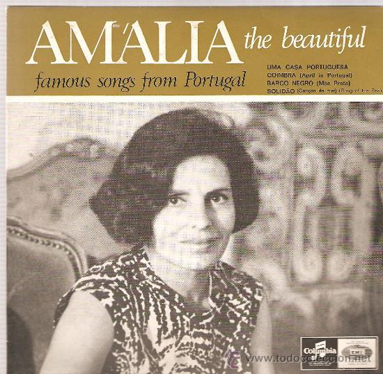 EP AMALIA RODRIGUES : UMA CASA PORTUGUESA (Música - Discos de Vinilo - EPs - Otros estilos)
