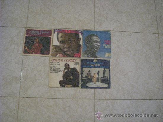 LOTE 5 SINGLE 45 RPM / ARTHUR CONLEY // EDITADO POR HISPAVOX ESPAÑA (Música - Discos - Singles Vinilo - Funk, Soul y Black Music)