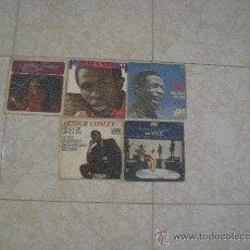 Discos de vinilo: LOTE 5 SINGLE 45 RPM / ARTHUR CONLEY // EDITADO POR HISPAVOX ESPAÑA. Lote 32782128