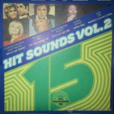 Discos de vinilo: LP DE ARTISTAS VARIOS HIT SOUNDS VOLUMEN 2 AÑO 1978. Lote 32787728