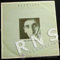 Discos de vinilo: FRANCO BATTIATO - NÓMADAS - DISCO VINILO LP - MÚSICA CANTANTE ITALIANO AÑOS 80 90 - EN ESPAÑOL. Lote 54356244