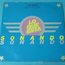 Discos de vinilo: J.M. SERRAT. ...PARA PIEL DE MANZANA. ARIOLA. DISCO REGALO. Lote 32792178