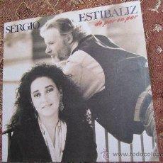 Discos de vinilo: LP DE VINILO DE SERGIO Y ESTIBALIZ- DE TITULO DE PAR EN PAR- EL DISCO ES ¡¡¡NUEVO A ESTRENAR¡¡¡. Lote 32797647