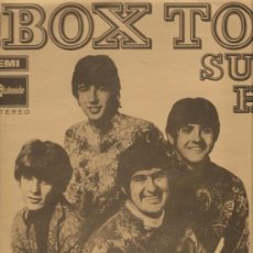 Discos de vinilo: LP THE BOX TOPS : SUPER HITS . Lote 32805244