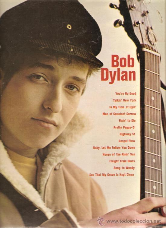 LP BOB DYLAN ( PRIMER LP DE DYLAN ) (Música - Discos - LP Vinilo - Cantautores Extranjeros)