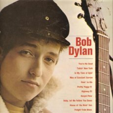 Discos de vinilo: LP BOB DYLAN ( PRIMER LP DE DYLAN ). Lote 32814113