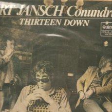 Discos de vinilo: LP BERT JANSCH CONUNDRUM : THIRTEEN DOWN . Lote 32816588