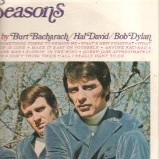 Discos de vinilo: LP THE 4 SEASONS : SING BIG HITS BY BURT BACHARACH & HAL DAVID & BOB DYLAN . Lote 32833949