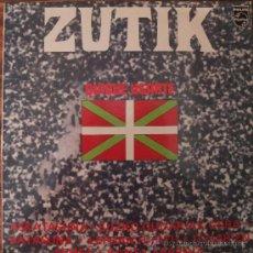 Discos de vinilo: ZUTIK -QUIQUE UGARTE-LP-1976. Lote 32836901